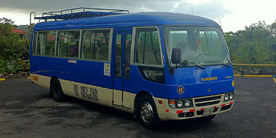 Toyota Coaster Costa Rica Rent a Van