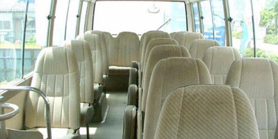 Toyota Coaster Rent a Van