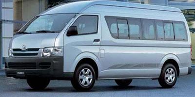Toyota Costa Rica Rent a Van