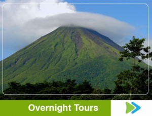 costa rica overnigth tours