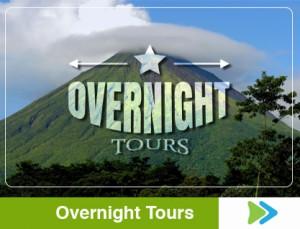 overnight tours costa rica