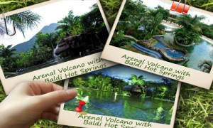 Arenal Volcano with Baldi Hot Springs