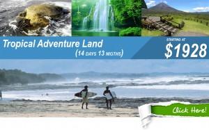 tropical vacation adventure land costa rica