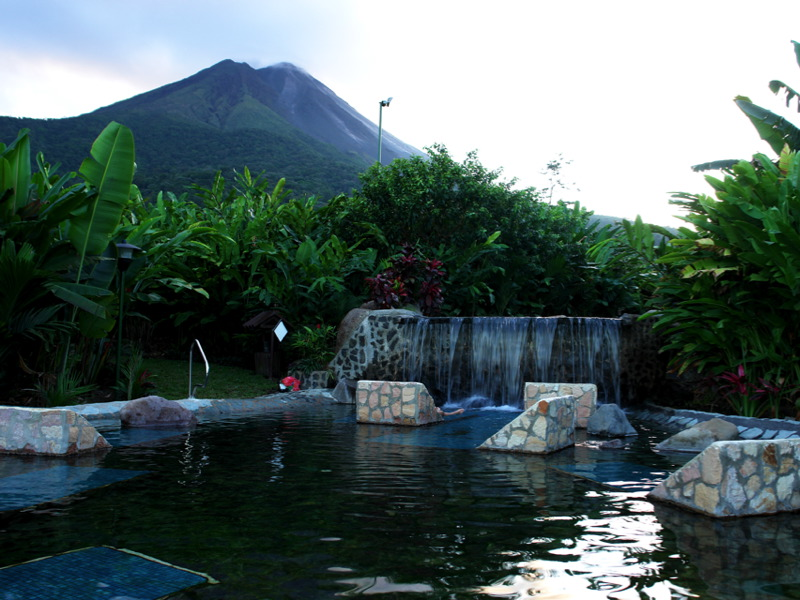 Arenal Volcano and Baldi Hot Springs