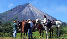 Horseback Riding to La Fortuna Costa Rica