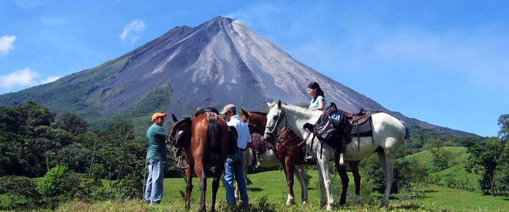 Horseback Riding to La Fortuna Costa Rica