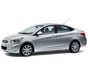 Hyundai Accent Blue AT