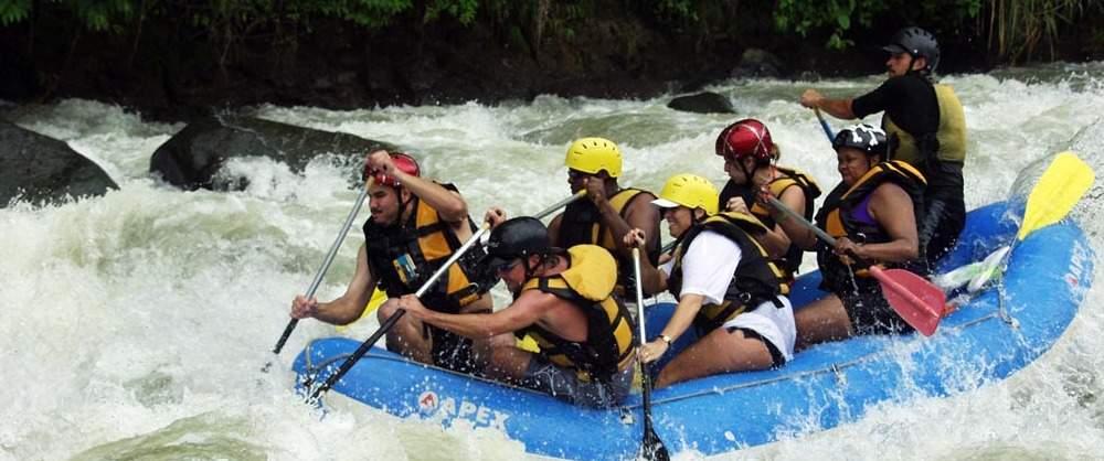 White Water Rafting Savegre River