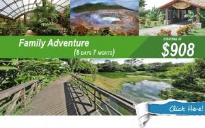Family Adventure Vacation Costa Rica