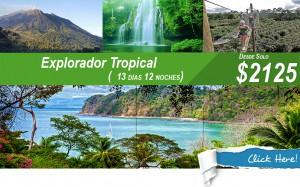 explorador tropical vacaciones
