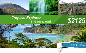 tropical explorer vacation in costa rica